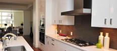 Белые кухни — дизайн интерьера в фото