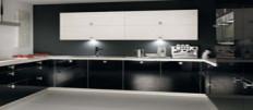 Фото черной кухни в интерьере