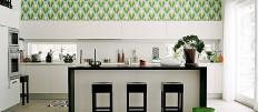Оформляем кухню обоями: какой цвет выбрать?