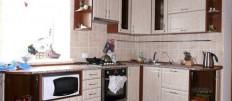 Угловые кухни в стиле классика