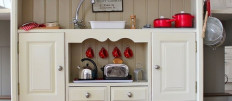 Дизайн детской винтажной кухни