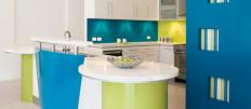 Яркий дизайн кухни
