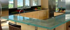Стеклянные кухонные столешницы от ThinkGlass