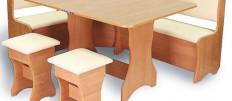 Как выбрать кухонный уголок для маленькой кухни