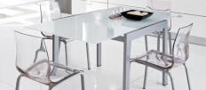 Хай Тек — прозрачные стулья для кухни