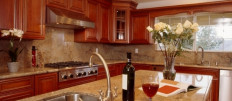 Выбираем столешницы из натурального камня для кухни