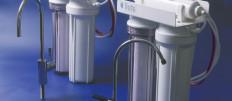 Устанавливаем фильтр для очистки воды