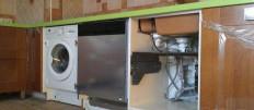 Как подключить стиральную машину к водопроводу на кухне