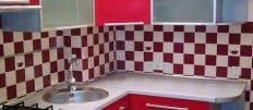 Идеи дизайна интерьера кухни в клетку