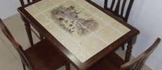 Идеи как обновить кухонный стол
