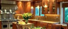 Каким сделать освещение на кухне