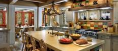 Кухня в стиле Шале: идеи интерьера