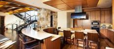 Барная стойка для кухни: необычный дизайн интерьера