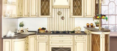 Кухни цвета слоновой кости в интерьере