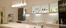 Как выбрать подвесные светильники для кухни