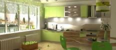 Как выбрать цвет кухни по фен шуй