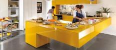 Как выбрать цвета столешницы для кухни