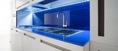 Как сделать подсветку кухонного гарнитура светодиодной лентой
