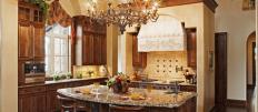 Обустройства интерьера кухни в средиземноморском стиле
