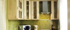 Маленькая кухня 3 кв. м.: идеи обустройства интерьера