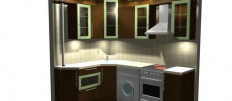 Идеи дизайна кухни в доме 504 серии