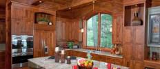 Каким сделать интерьер кухни в загородном доме