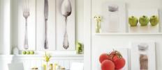 Как и чем украсить стены на кухне: фото идеи
