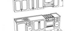 Делаем чертежи кухонной мебели своими руками: пошаговая инструкция