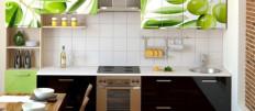 Как обновить кухонную мебель из подручных материалов
