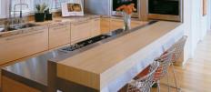 Как выбрать размеры барной стойки для кухни
