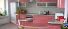 Угловая кухня с барной стойкой – оптимальное решение для кухни