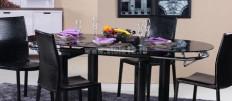 Выбираем черный кухонный стол для кухни