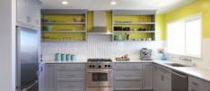 Кухня с открытыми полками: оригинальные варианты дизайна