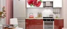 Как разместить кухонный гарнитур со встроенной техникой в маленькой кухне