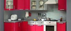 Угловые модульные кухни — оптимальный вариант для малогабаритных помещений