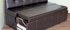 Узкие диваны на кухню — стильное решение для маленькой площади