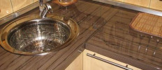 Обзор про столешницы для кухни из МДФ