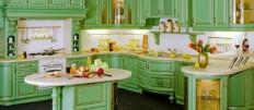 Варианты дизайна кухни в стиле барокко