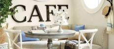 Как оформить интерьер кухни в стиле кафе