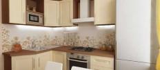 Функциональные гарнитуры для кухни площадью 9 кв.м