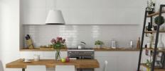 Использование кирпича при оформлении интерьера кухни