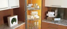 Виды и размеры напольных шкафов для кухни