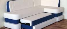Варианты моделей угловых диванов для кухни