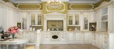 Разновидности дизайна верхних шкафов для кухни