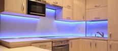 Идеи подсветки светодиодной лентой на кухне