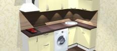 Обзор моделей кухонь в каталоге Леруа Мерлен