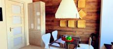 Варианты отделки стен ламинатом на кухне