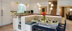 Варианты интерьера кухни площадью 30 кв. м