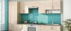 Дизайн интерьера с кухней молочного цвета