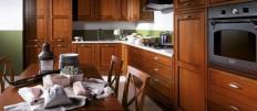 Обзор кухонь из массива березы